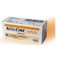 ACCU-CHEK SOFTCLIX 25LANC
