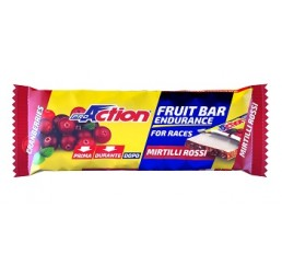 FRUIT BAR MIRTILLO ROSSO 40G