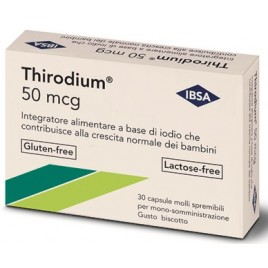 THIRODIUM 50MCG 30CPS SPREMIB
