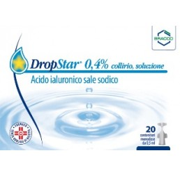 DROPSTAR*COLLIRIO 20FL 0,5ML