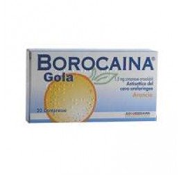 BOROCAINA GOLA*20PAST1,5MG ARA