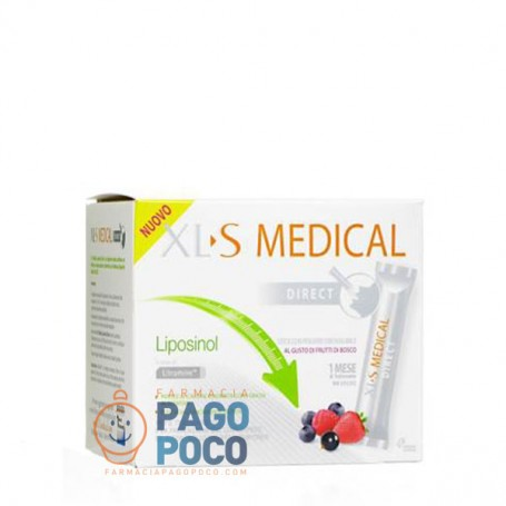 XLS MEDICAL LIPOSINOL DIRECT 90BUSTINE