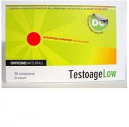 TESTOAGE LOW 30CPR 850MG