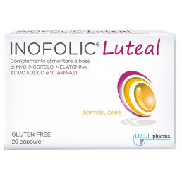INOFOLIC LUTEAL 20CPS MOLLI