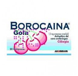 BOROCAINA GOLA*20PAST1,5MG CIL