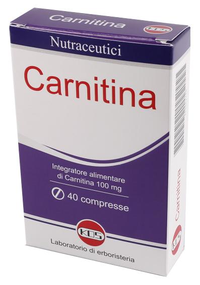 Carnitina 40cpr