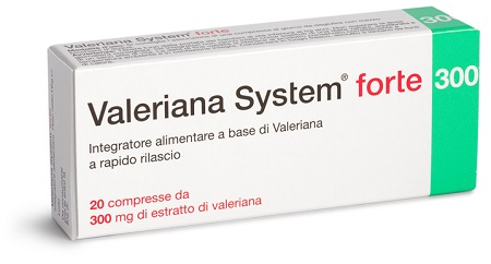 VALERIANA SYSTEM FORTE 20CPR