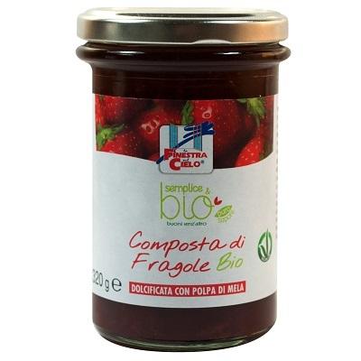 Composta Fragole Sempl&bio