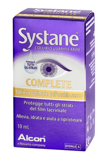 SYSTANE COMPLETE COLLIRIO LUBR
