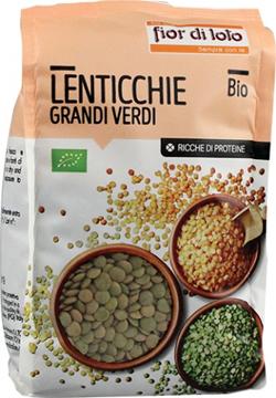Lenticchie Verdi Bio 400g