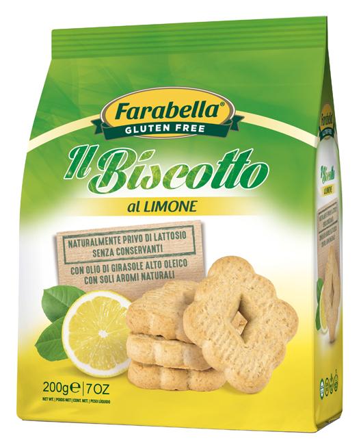 Farabella Biscotto Limone 200g